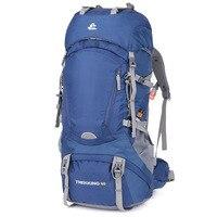60L Climbing Bags Outdoor Backpack Climbing Backpack Sport Bag Camping Backpack Capacity Travel Bag Mountain Rucksack