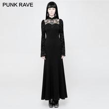 Women Dress PUNK Neck