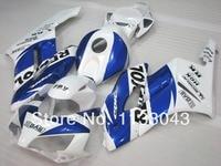 100 Fit Injection Fairings For REPSOL Blue White HONDA CBR1000RR 04 05 CBR1000 RR 2004 2005