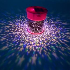 Image 5 - Gwiazda LED lampka nocna projektor LED noc gwiazda księżyc mistrz romantyczna kolorowa lampa projektora dzieci dzieci Home Decor