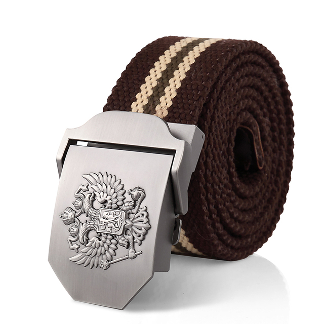 Alloy buckle military men Belts 4