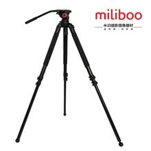 miliboo MTT701A Portable Aluminium tripod for professional camcorder/video camera/DSLR tripod stand,with Hydraulic Ball Head цена и фото