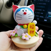 New Lucky Dolls For Car Mascot Lucky Fat Cat Interior Decorations Funny Gift Cute Toys Lovely Japan Cartoon Auto Accessories