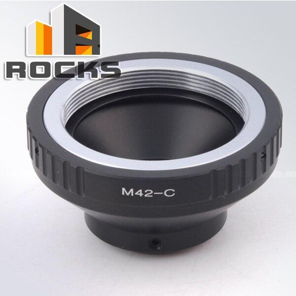 Pixco adaptador de montagem r. ing suit para m42 mount lens para c monte film bolex filme câmera de vídeo