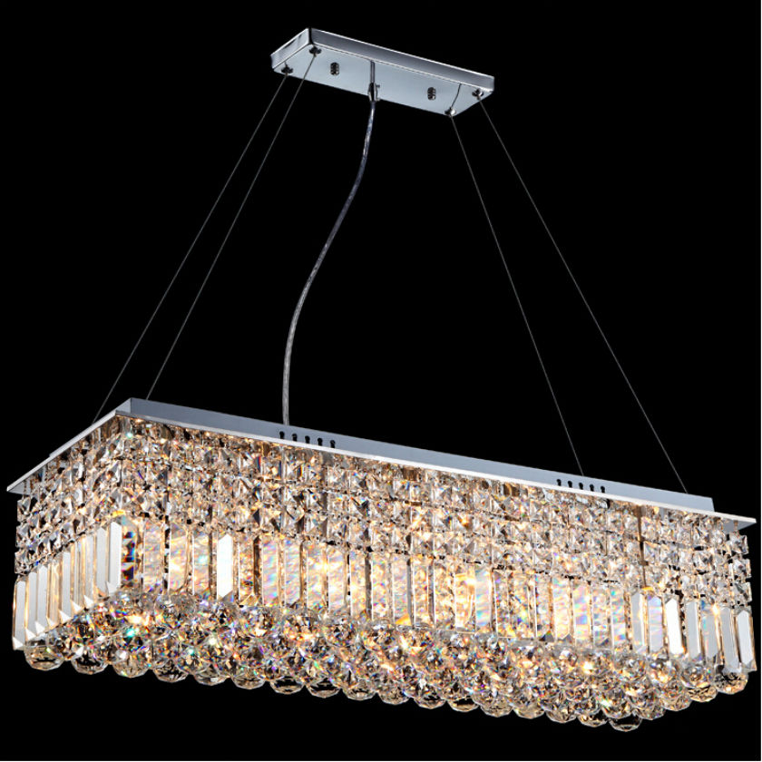Modern Luster Crystal Chandeliers Double Staircase LED Pendant Lamp For Foyer Dining Room Restaurant Decoration luminarias para modern crystal chandelier hanging lighting birdcage chandeliers light for living room bedroom dining room restaurant decoration