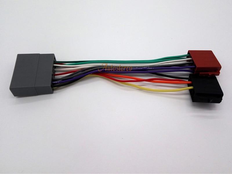 12 011 Autostereo Iso Radio Plug Wire Cable For Honda Mitsubishi Peugeot 4007 Citroen C Crosser