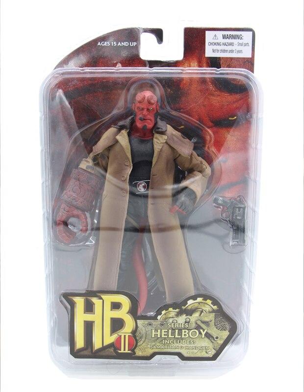 7″ Hellboy 18cm BJD Figure Model Toys for Children