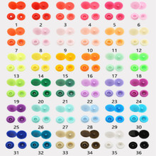 T5 resin buttons 12MM snap button plastic snaps plastico snap fastener 36COLORS 1000set/lot free shipping цена в Москве и Питере