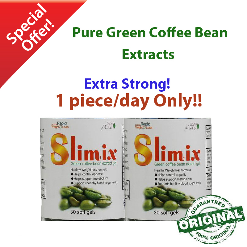 (2 bottles) Green coffee bean extract diet weight loss product women slimming...