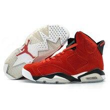 9346a5c2834ee4 KFJ AIR US JORDAN 6 VI Men Basketball Shoes Gatorade Green Infrared Wheat  Sport Blue Athletic