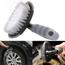 Cubo de Roda Aro Do Pneu Do Carro de Reparação de pneus Do Veículo Dobrar Haste de Esfregar Escova de Limpeza Cleaner Nova #1