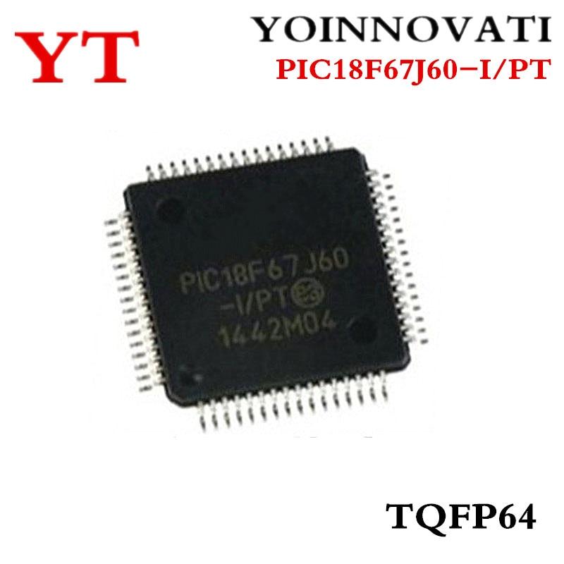 Free Shipping 160pcs lot PIC18F67J60 I PT PIC18F67J60 18F67J60 64TQFP