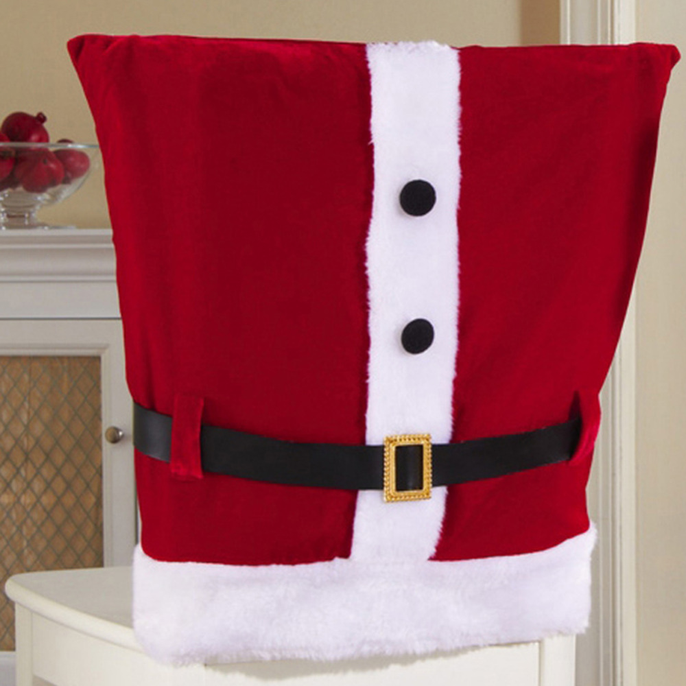 Christmas Decorations Merry Christmas Snowman Chair Covers