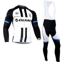 2016 Giant Pro Team Cycling Jersey Long Sleeve Clothing sport Bicycle Men MTB Fitness Riding Sportswear Ropa Ciclismo