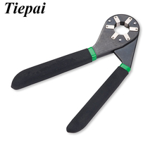 Tiepai 6Inch Adjustable Bionic Wrench 14 Wrenches in 1 Squeeze Turn Lifetime Warranty Universal Pliers Wrench