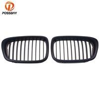 POSSBAY Matte Black Car Front Center Kidney Grill Grille for BMW 5 Series E39 M5 530i/535i/540i/540iP/M5 1998 2003 Car Styling|kidney grill|grill for bmw|front grille for bmw -