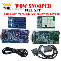 10pcs Lot Free DHL Ship WoW SNOOPER Without With Bluetooth V5 008 R2 2015 R3 Software
