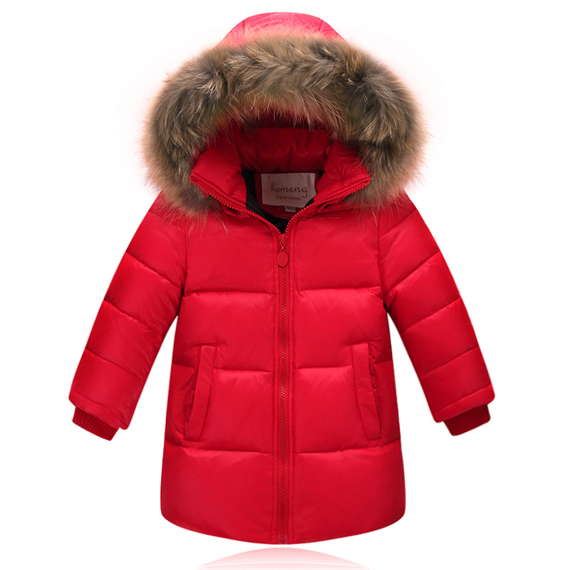 Children Clothing Fur Collar Hooded Boy Winter Jackets And Coat Boys Girl White Duck Down Coats Casual Warm Kids Winter Outwear 2016 winter jacket girls down coat child down jackets girl duck down long design loose coats children outwear overcaot