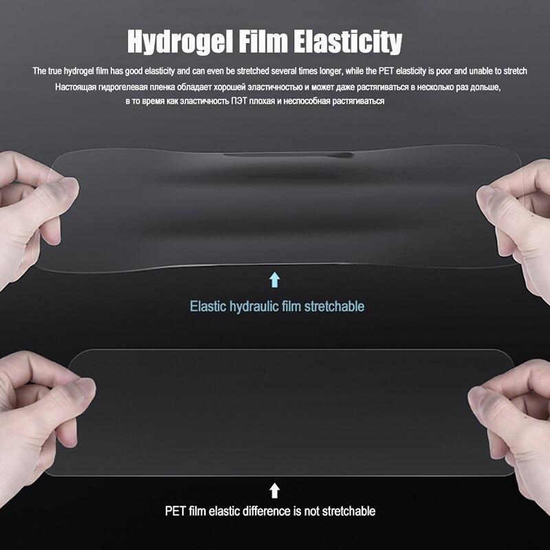 Image 4 - Оригинальная 3D полностью покрывающая Гидрогелевая пленка для OnePLus 5T 6 T 7 Pro без стеклянной защиты экрана для OnePLus 5 6 T 7T мягкая защитная пленка-in Защитные стёкла и плёнки from Мобильные телефоны и телекоммуникации