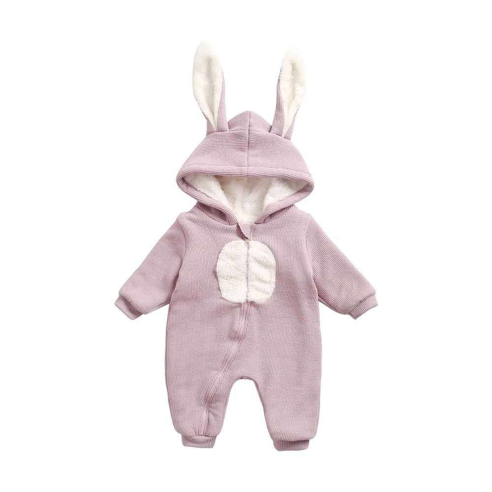 Winter New Baby   Rompers   Winter Thick Cotton Jumpsuits Warm Clothes Infant Boys Girls Jumpsuit Children Outerwear Baby Costume