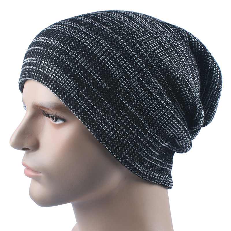 Knitting hat sell like hot cakes Autumn and winter hat Outdoor ski hat  manufacturer wholesale turtleneck cap AB-in Skullies   Beanies from Apparel  ... 02cf748251b