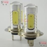 10pcs Dc 12v 7 5w H7 Fog Light Led Lens Fog Lamp 360 Degree Led Bulb