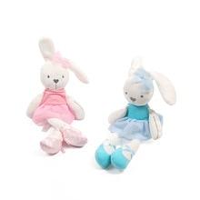 Aranyos Rabbit Doll Baby Lágy Plüss Játékok gyerekeknek Bunny Sleeping Mate Kitömött & Plüss Állatok Baby Játékok Csecsemőknek 50cm