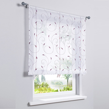 2019 Tulle Door Sheer Curtain Balcony Kitchen Short Curtain Drape Panel Screen Voile Curtain Window Curtain for Living Room window door curtain valance drape panel sheer tulle window screening tulle curtain for living room valance tulle sheer curtain
