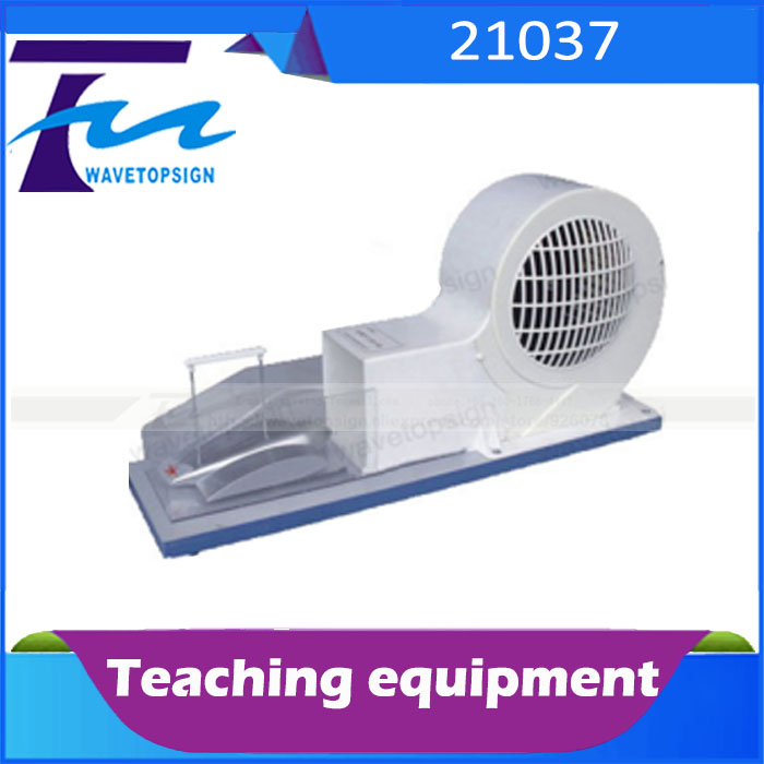Aircraft lifting principle demonstrator 21037 Small wind tunnel model physics teaching experiment equipment manufacturers elliott wave principle
