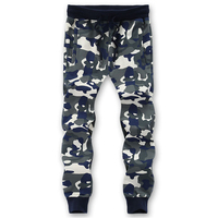 8XL Camouflage Men Brand Pants 2017 Casual Cotton Comfortable Male Elastic Waist Stretch Camo Army Long