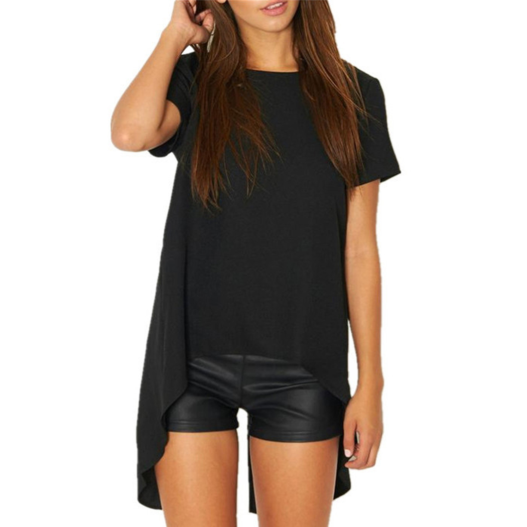 Fanala women tee shirt sexy backless t shirt short sleeve 2017 summer women loose tshirt tees - Tee shirt sexy ...