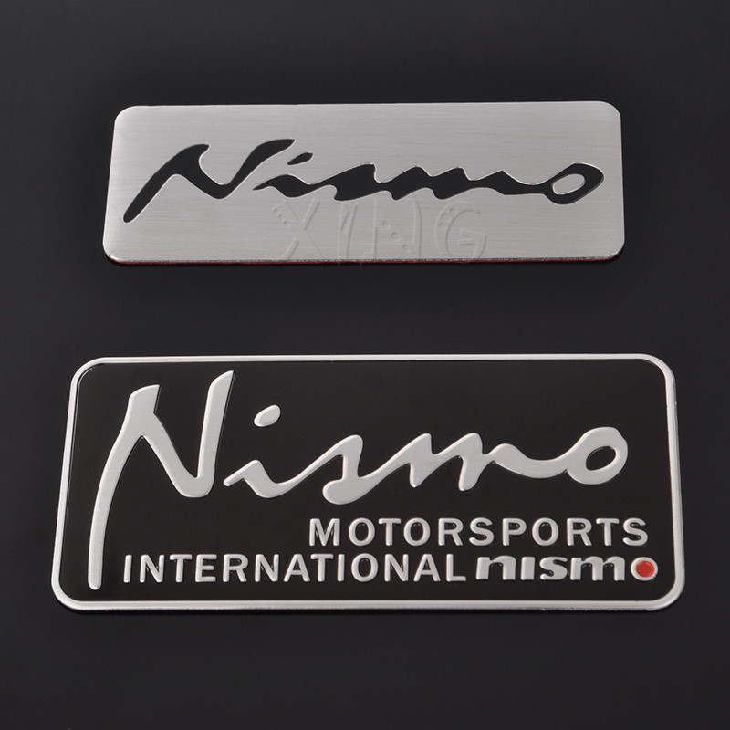 car sticker auto badge emblem decal for nissan nismo. Black Bedroom Furniture Sets. Home Design Ideas