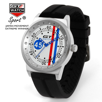 GT WATCH Fashion Sport F1 Racing Watch Luxury Sports Brand Silicone Men watches Clock  メンズ 時計 ゼニス