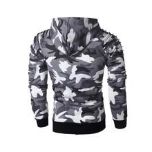 Laamei Camouflage Hoodies Men 2019 New Fashion Sweatshirt Male Camo Hoody Hip  Autumn Winter Military Hoodie Plus Size 3XL
