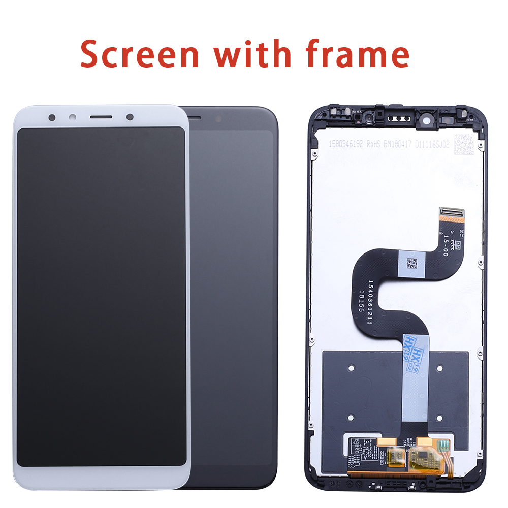 For Xiaomi Mi A2 MIA2 LCD Display Digitizer Touch Screen Assembly for Xiaomi Mi 6X MI6X Replacement Repair Parts White 5.99 inch-in Mobile Phone LCD Screens from Cellphones & Telecommunications
