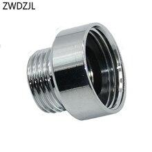 Kadın 3/4 to1/2 erkek pirinç adaptör G3/4 derz Düşürücü G1/2 dişli Konektörü çamaşır makinesi bağlantı parçaları 1 adet