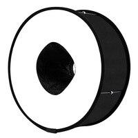 Soft Box 45cm Ring Flash Cloth Camera Photography Universal Cover Folding Mini Soft Light Box Accessories Foto Tent
