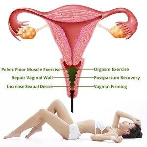 Image 2 - DropShippingธรรมชาติหยกไข่Kegelผู้หญิงอุ้งเชิงกรานกล้ามเนื้อออกกำลังกายKegelไข่Yoniกระชับช่องคลอดBen Wa Ball Kegelไข่
