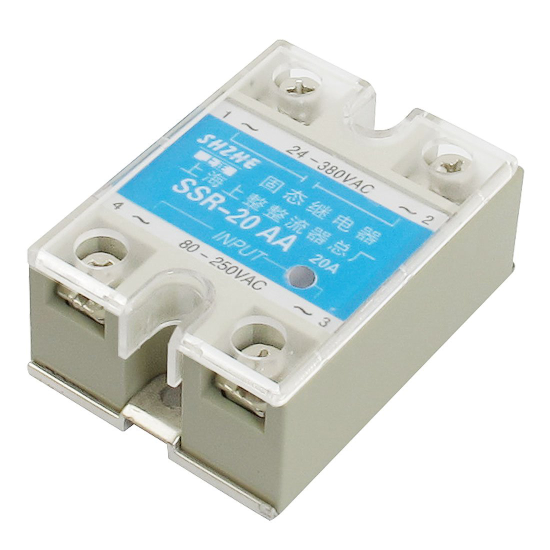 Good Buy Ssr 20aa Ac To Covered Solid State Module Relay 80 Crydom 250v