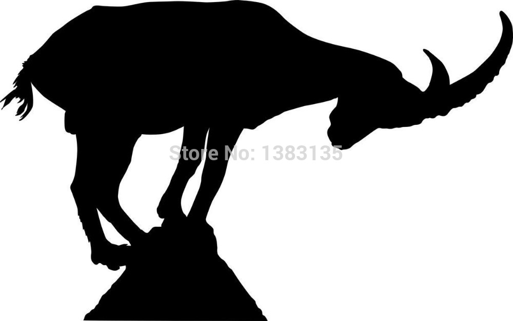 Wholesale 50 Pcs Lot Silhouette Of An Ibex Mountain Goat