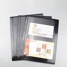 Page-Sheets Insert-Stamp 9-Hole-Standard Album-Binder Pccb-Mingt-J3.0 Pccb-Mingt-J3.0
