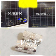 10pcs/lot  N-JJ Double Male Connector Feeder Adapter 50-12F