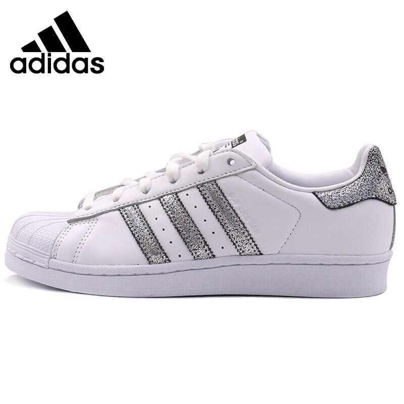 the best attitude 3c00e e2364 Original auténtico Adidas originales de las mujeres zapatos de skate zapatos  Low-Top hilo zapatillas