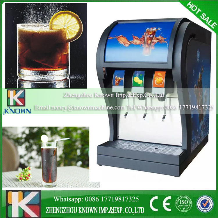 Lowest price coke beverage post mix dispenser with best service 3pcs valves coke now tuning machineLowest price coke beverage post mix dispenser with best service 3pcs valves coke now tuning machine