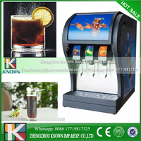 Lowest price coke beverage post mix dispenser with best service 3pcs valves coke now tuning machine