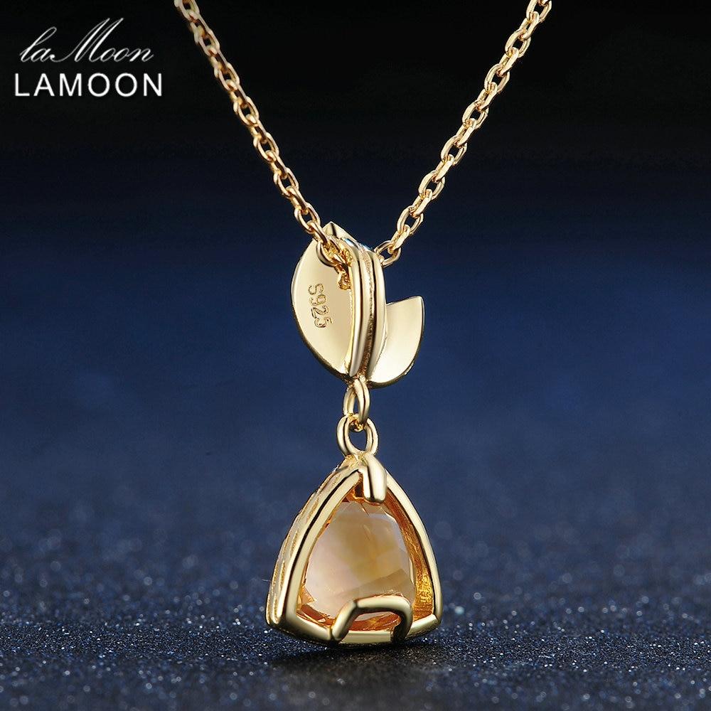 LAMOON ყელსაბამი 1.3ct 100% - ლამაზი სამკაულები - ფოტო 4