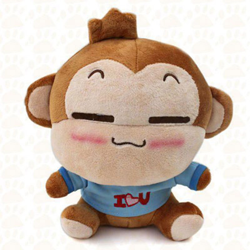New Kawaii Monkeys Plush Toy Stuffed Animal Soft Youci Monkey