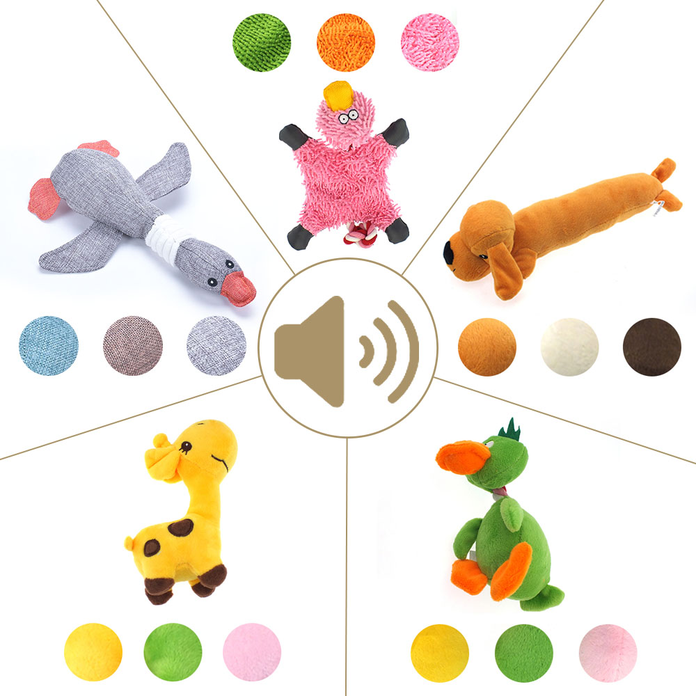 Toys For Dogs Plush Dog Toys For Small Medium Large Dog Pet Game Squeak Pet Toys For Dog Cat Puppy Toy Interactive Pet Supplies