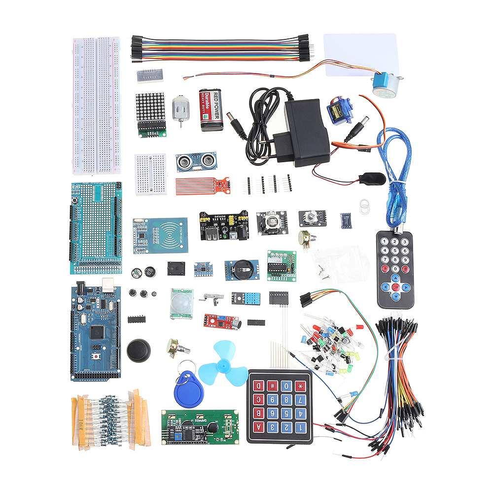 Version EU pour Mega 2560 les Kits de démarrage les plus complets pour Arduino Mega2560 pour UNOR3 pour Nano