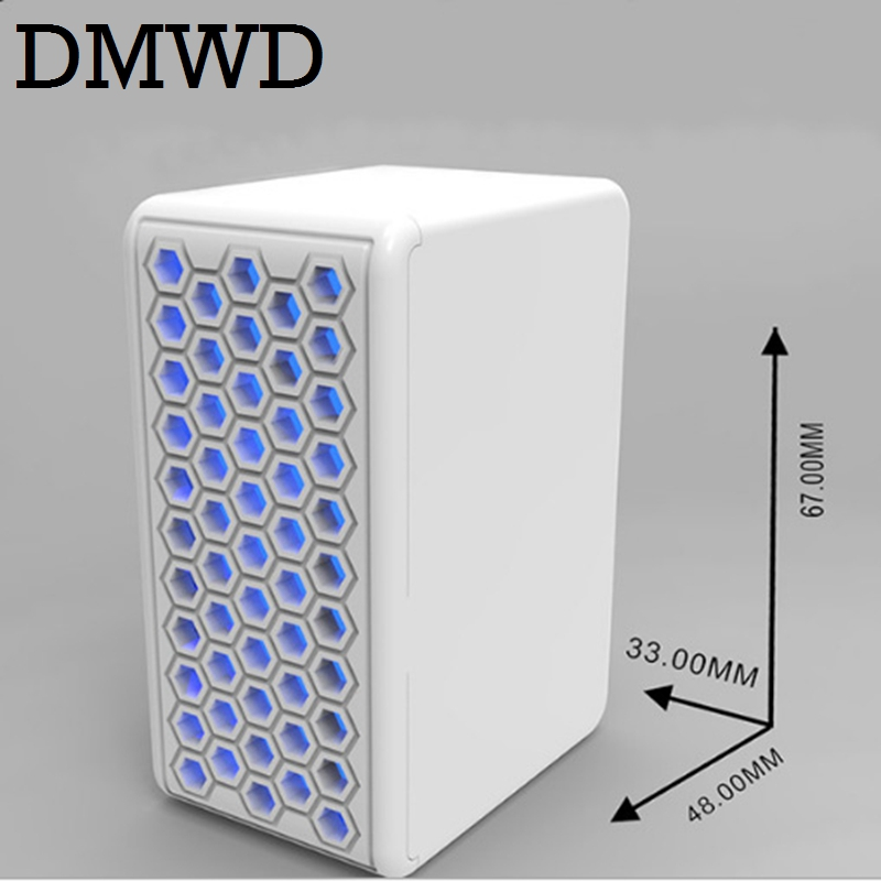DMWD Air Purifier Negative iron Generator Ionizer Sterilizer Portable USB mini oxygen bar Remove Formaldehyde Smoke smell pm2.5 цена